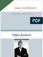 Malaysian Architects