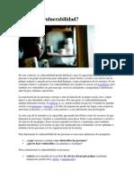 Qué es la vulnerabilidad.pdf