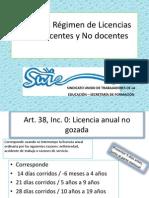 Ley 5811 Régimen de Licencias Para Docentes