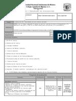 PLAN Y PROGRAMA DE EVALUACION 2014-2015 PRIMER PERIODO