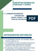 Contabilidad Financiera i Unidad Conceptos Grales y Teoria Contable