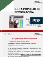 Consulta Popular Revocatoria
