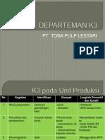 DEPARTEMAN K3