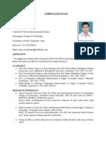 Curriculum Vitae and Academic Transcripts_D.sureshBabu