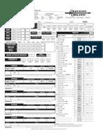 Silas Character Sheet