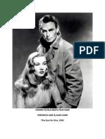 FEMME FATALES & FILM NOIRS by Alan L. Chrisman