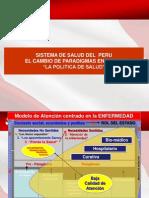 1.Sisstema de Salud Peru - Cambio de Paradigma Ais