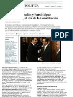 Portadas de los diarios conservadores y ultraderechistas  el 07/12/2009