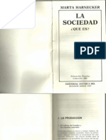 LA SOCIEDAD -Qué Es- Marta Harnecker
