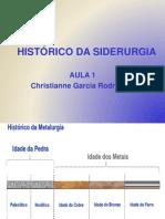 Histórico Da Siderurgia - Aula1