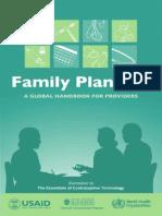 Global Handbook Family Planning