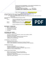 Sillabus2014-1 Analisis Estruct 1 Ec211j