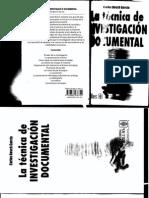 2 BOSCH_Tecnicas de Investigacion Documental