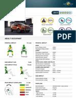Ford EcoSport EuroNCAP