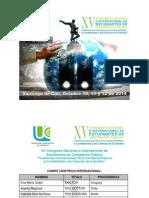 XV Congreso Internal de Contaduría - UCC