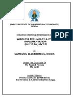 Report Samsung