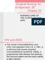 Nursing Care of the Client Hiv and Aids