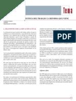 Tema Laboral Nº21 Modernización de La Justicia Del Trabajo. La Reforma Que Viene