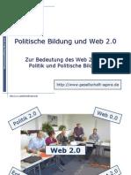 Politische Bildung und Web 2.0