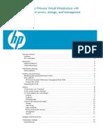 HP Planning Virtualization Deployment Vmware