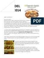 Festa Del Pane 2014