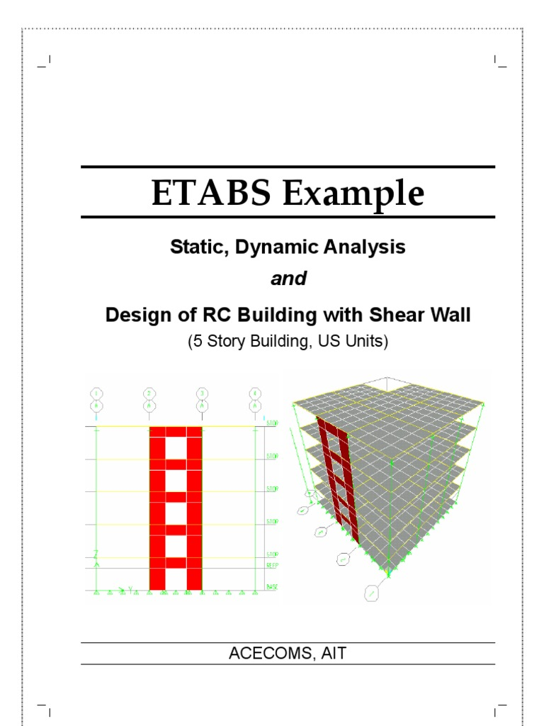 Etabs Tutorial | Wall | Structural Load