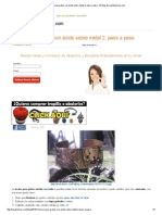 Curso Para Grabar Con Ácido Sobre Metal 2, Paso a Paso » El Blog de LosAbalorios