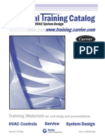 11961264 Carrier HVAC Technical Training Catalog