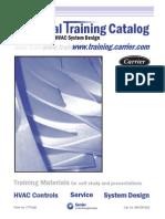 11961264 Carrier HVAC Technical Training Catalog