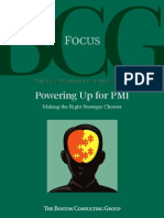 Powering up for PMI