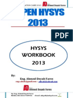 HySys Work Book 2013