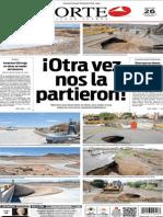 Periódico Norte edición del día 26 de agosto de 2014