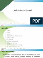 1 Day Training on Firewall