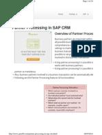 Partner Processing Crm