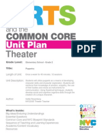 CC Unit Plan Theater ES Puppetry