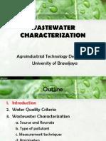 Wastewater Characterization1