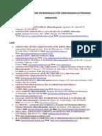 LISTADO DE ASOCIACIONES PATRIMONIALES POR COMUNIDADES AUTÓNOMAS.docx