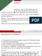 Statistics Methodology