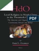 Local Religion in North China in the Twentieth Century Handbook of Oriental Studies