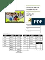 Buku Standard Prestasi Matematik Tahun 2 KSSR