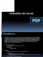 curs cancerul de colon