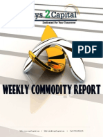 Commodity Report by Ways2Capital 26 Aug 2014
