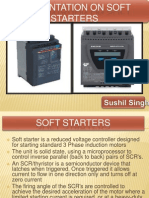 Prsentation on Soft Starter F