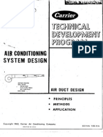 AC System Design - Air Duct Design T200-25A
