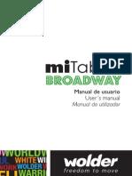 Wolder Manual MiTabBROADWAY