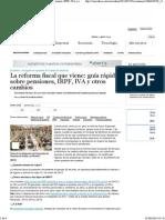 La Reforma Fiscal Que Viene_ Guía Rápida Sobre Pensiones, IRPF, IVA y Otros Cambios _ Economía _ Cinco Días