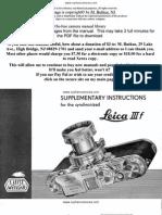 Leica Iiif Supplementary