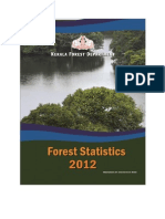 Kerala Forest Statitics 2012