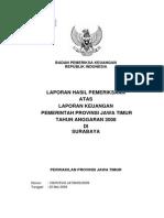 LKPD Prov Jawa Timur