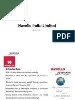 Havells India June 2012